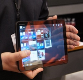 Motorola Xoom Demo Video at CES