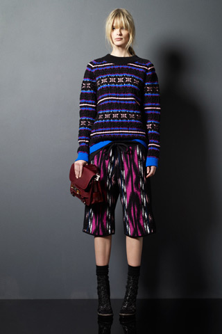 Proenza Schouler's Pre-Fall 2011 Collection Highlights Their First Foray Into Statement Knits