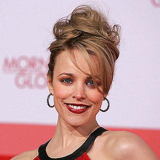 Rachel McAdams's Voluminous Hair and Bold Makeup at the German Premiere of Morning Glory