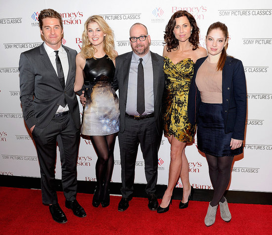 Pictures of Scott Speedman, Minnie Driver, and Paul Giamatti at the NYC Premiere of Barney's Version