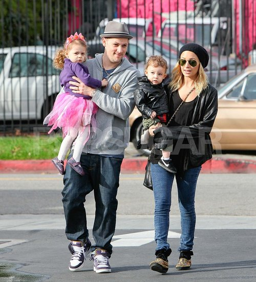 Pictures of Nicole Richie and Joel Madden With Sparrow and Harlow in LA