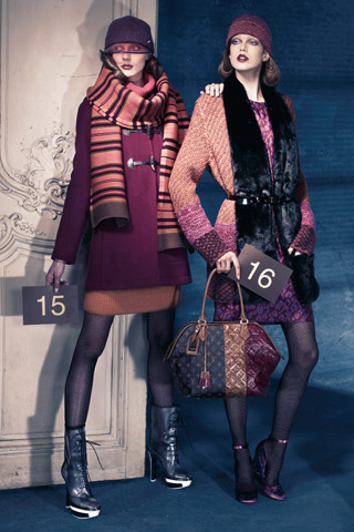 Louis Vuitton Brings Back the Polish with Pre-Fall 2011