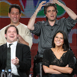 Perfect Couples 2011 Winter TCA Quotes and Pics Featuring Olivia Munn and Hayes MacArthur