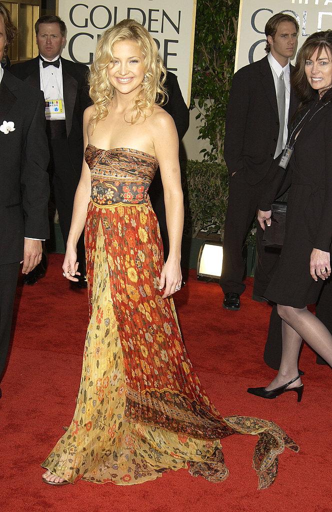 Kate Hudson in Valentino in 2003.