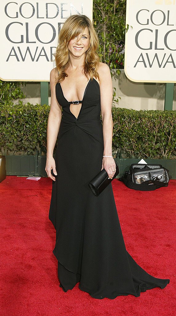 Jennifer Aniston in vintage Valentino in 2004.