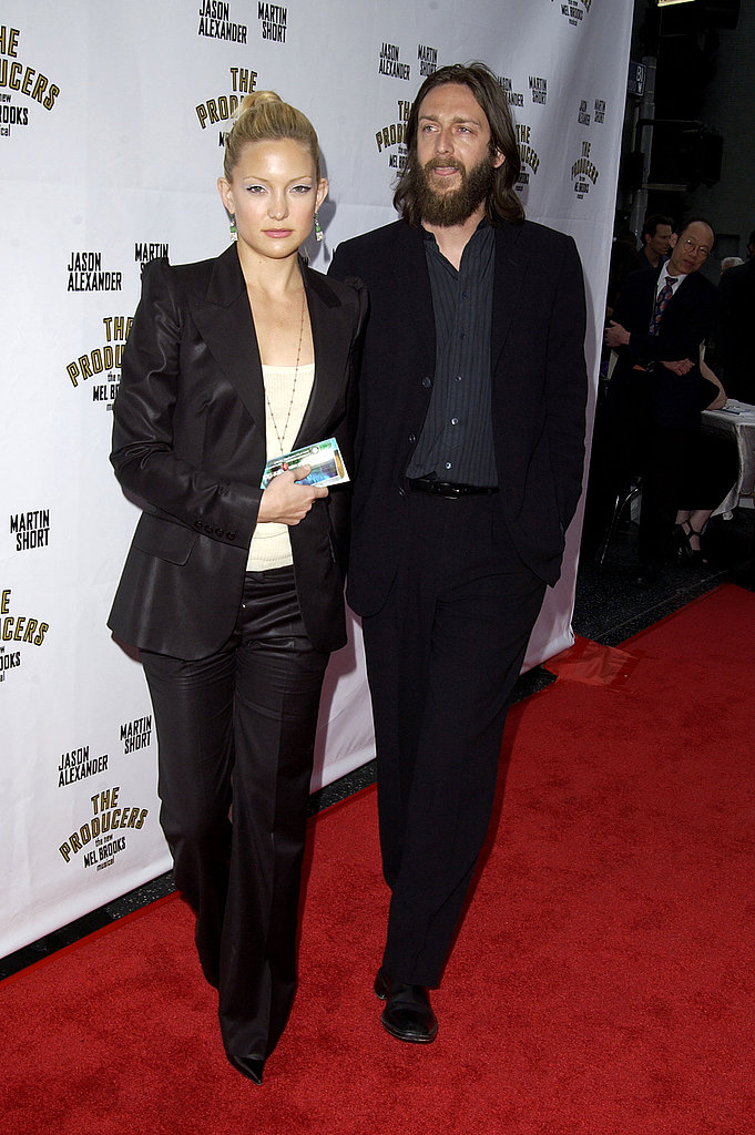 Kate Hudson was just beginning to show at the opening night of The Producers in May '03.