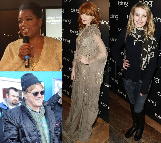 Pictures of Celebrities at 2011 Sundance Film Festival