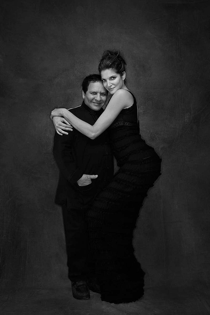Besties since Stephanie was a 15-year-old newbie model, Stephanie and Alaia are featured together in a Flaunt editorial by Gilles Bensimon.