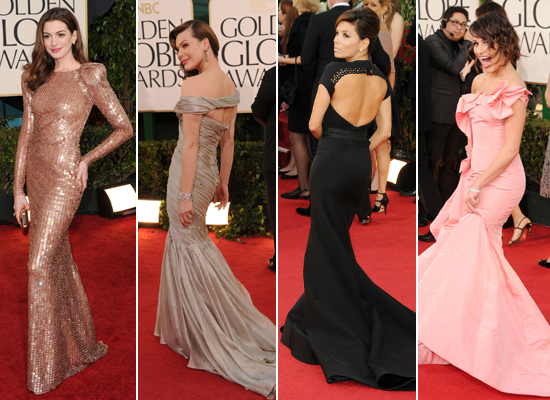 Best of the Rest: 2011 Golden Globe Red Carpet Roundup!