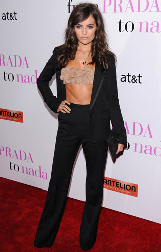 Camilla Belle Wears a Bra Top to the Premiere of From Prada to Nada 2011-01-19 10:44:39