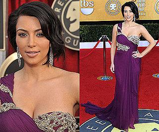 Kim Kardashian in Marchesa at 2011 SAG Awards