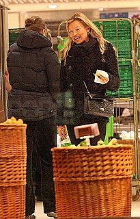 Pictures of Kate Moss Grocery Shopping in London