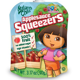 Squeezable Snacks For Kids