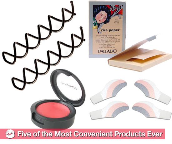 5 of the Easiest, Most Convenient Hair and Beauty Products Ever