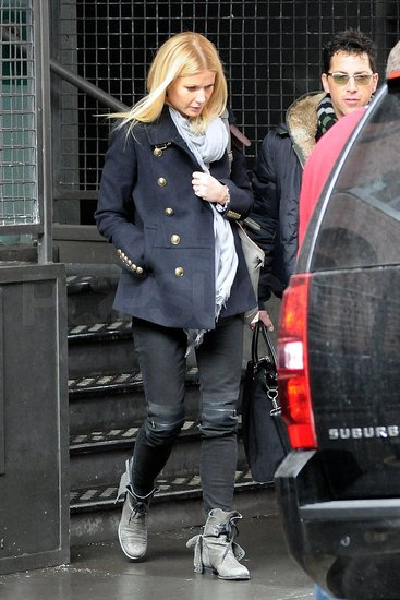 Gwyneth Paltrow Tackles the Snowstorm With Style and French Beauty Products