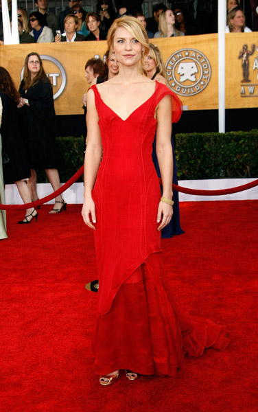Claire Danes at the 2009 SAG Awards