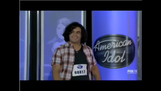 Video of American Idol's Chris Medina's Audition and Love Story