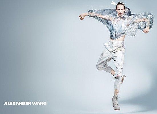 Alexander Wang and Elie Saab's Similar Spring 2011 Ads