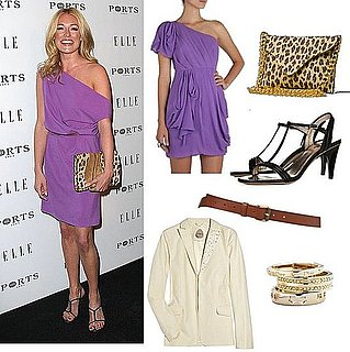 Cat Deeley Wears Purple to Elle Mag's Women in TV Dinner