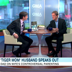 Amy Chua's Husband Agrees With Her Parenting