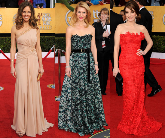 Photos of Best Dressed Celebrities at the 2011 SAG Awards in Hollywood