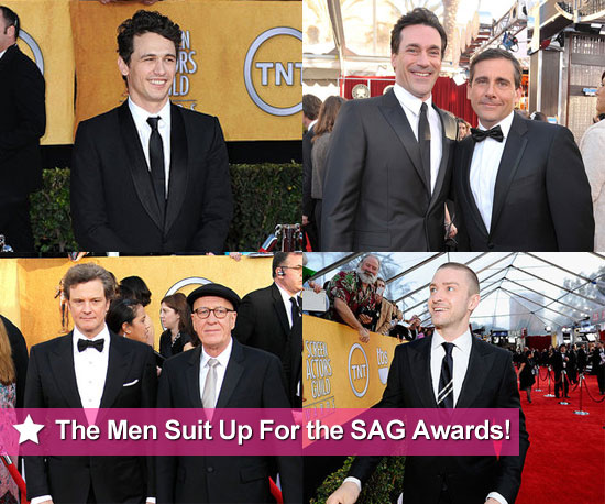 James Franco, Jon Hamm, Justin Timberlake, Colin Firth and More at the 2011 SAG Awards!