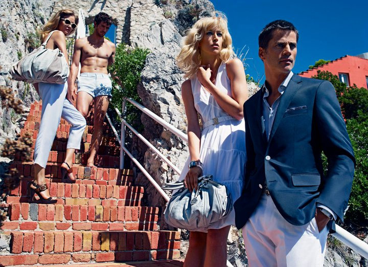 Hugo Boss Spring '11 Campaign Takes Us on a Vacation to Italy!