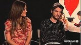 Video of Tom Sturridge Talking About Kristen Stewart in On The Road