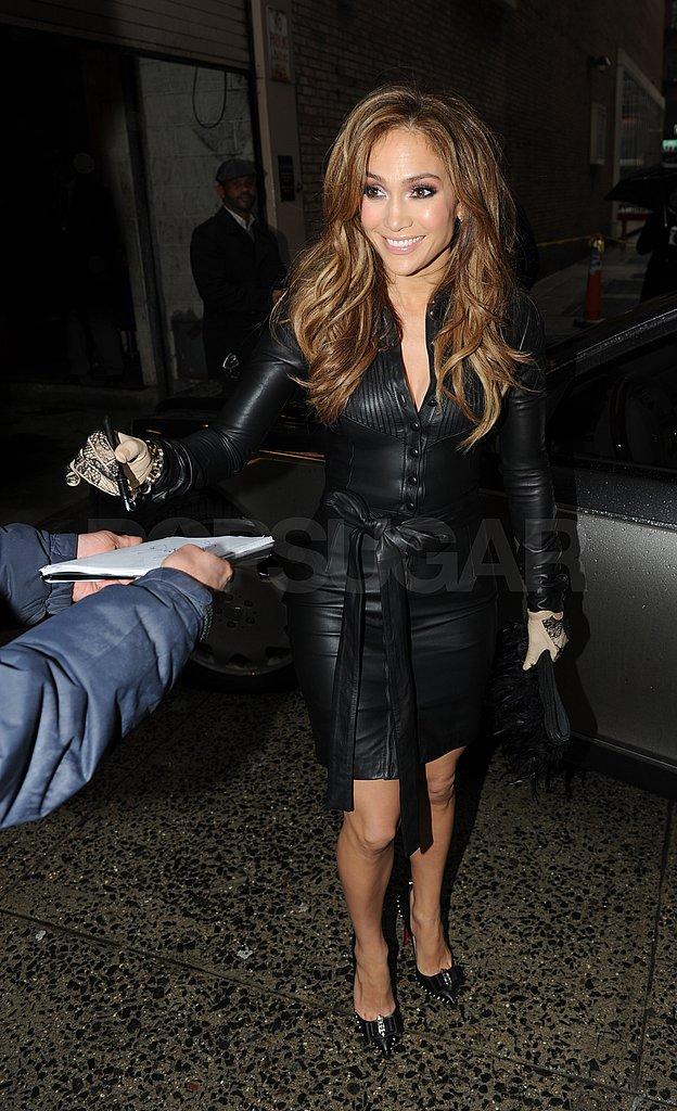Jennifer Lopez Gets Idolized From Morning to Night