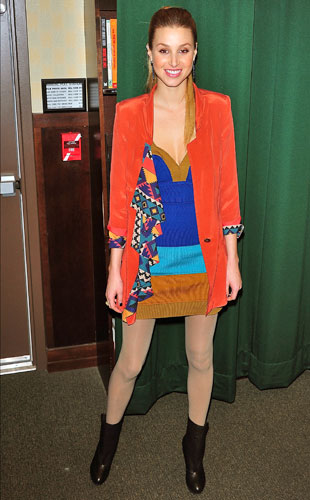 Whitney Port Wears Brights at NYC Book Signing of True Whit