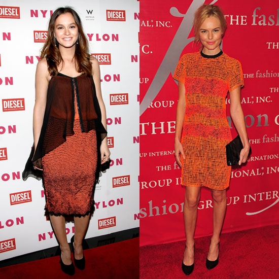 Style Battle: Leighton Meester and Kate Bosworth in Proenza Schouler Dresses