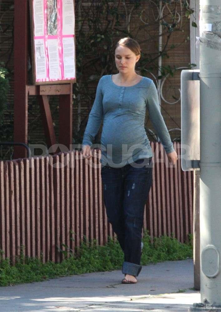 Natalie Portman Pregnant Pictures of Natalie Po...