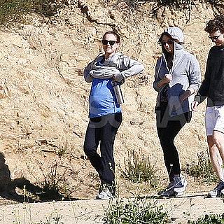 Pictures of Pregnant Natalie Portman Hiking in LA