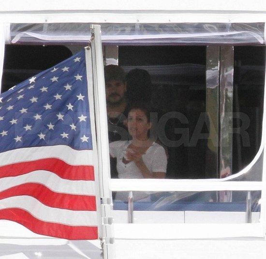 Pictures of Rumored Couple Eduardo Cruz and Eva Longoria on a Yacht