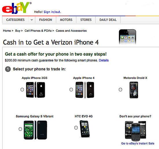 eBay Phone Trade-In Program