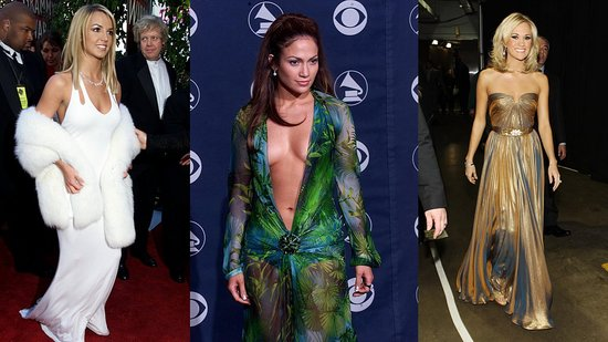 Stars Go Glam For Grammy Awards: A Look Back