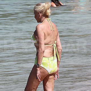 Guess Who Wore a Yellow Bikini?
