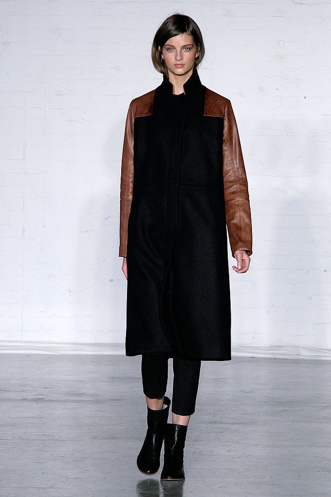 Zero + Maria Cornejo Blends Hand-Knitted Alpaca Knits With Sharp Tailored Looks For Fall 2011
