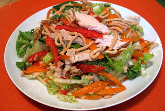 Add heft to an otherwise light salad.