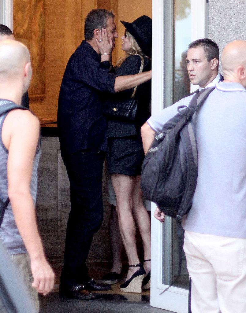 Kate Moss Kisses Mario Testino and Brazil Goodbye