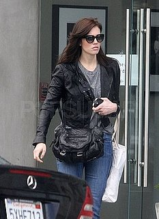 Pictures of Mandy Moore Leaving a Hair Salon in LA