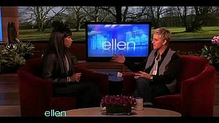 Jennifer Hudson on Ellen