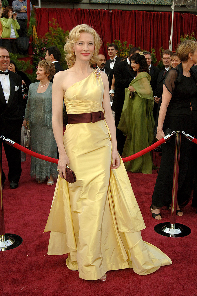 Cate Blanchett at the 2005 Academy Awards