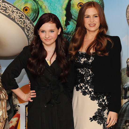 Pictures of Isla Fisher and Abigail Breslin at a Rango Photo Call in London 2011-02-22 10:43:00