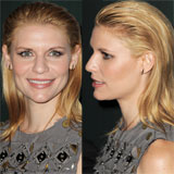 Claire Danes' Swept Back Hairstyle