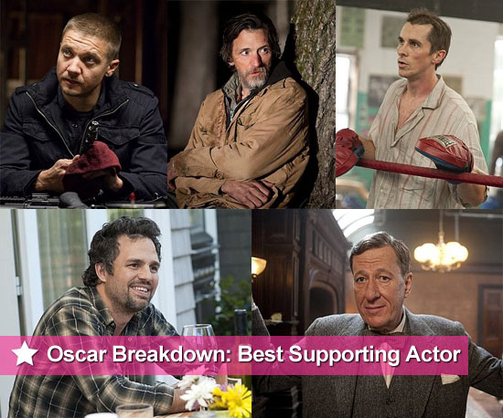 2011 Best Supporting Actor Oscar Nominee Breakdowns and Chances of Winning