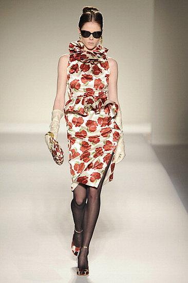 Fall 2011 Milan Fashion Week: Moschino