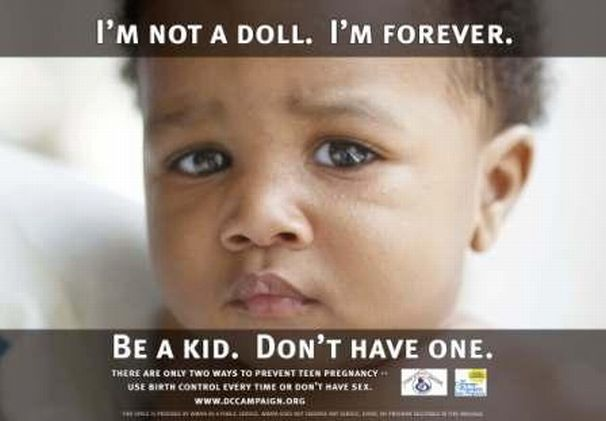 Teen Pregnancy Prevention Posters