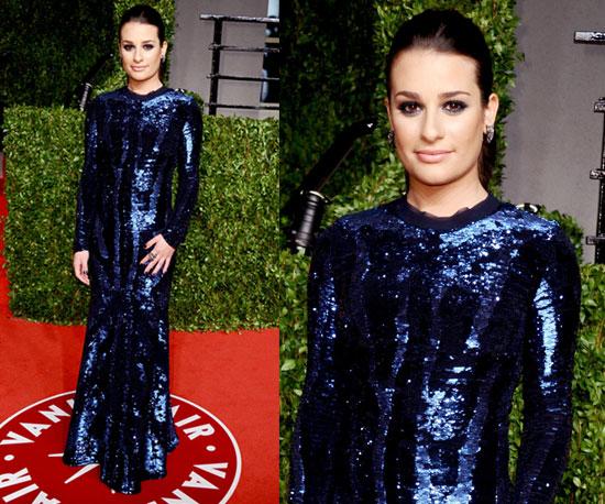 Lea Michele at Oscars 2011