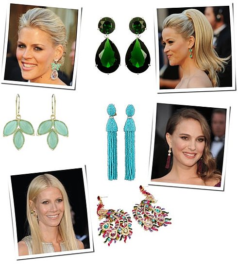 Shopping For the Oscars' Red Carpet Trends: Bold Earrings